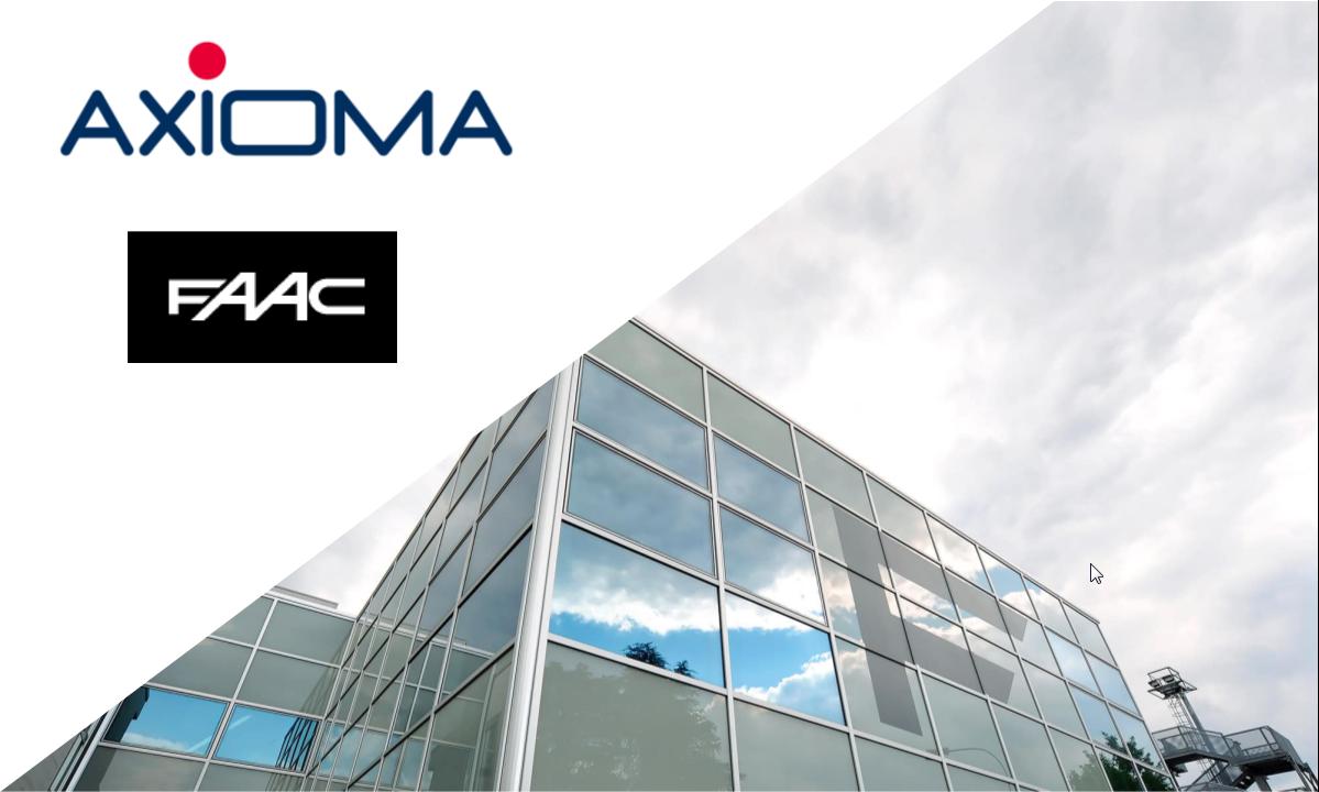 FAAC sceglie Axioma Cloud CPQ per configurare offerte e raccogliereordini